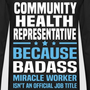 Community Health Representative Tshirt - Men's Premium Long Sleeve T-Shirt