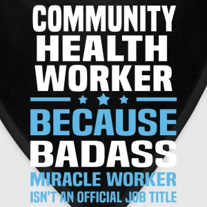 Community Health Worker Tshirt - Bandana