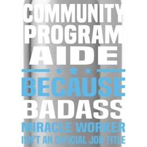 Community Program Aide Tshirt - Water Bottle