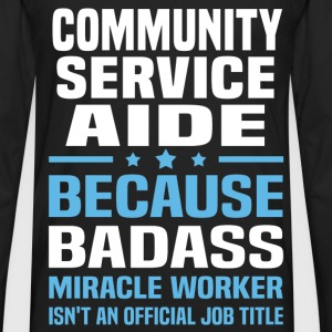 Community Service Aide Tshirt - Men's Premium Long Sleeve T-Shirt