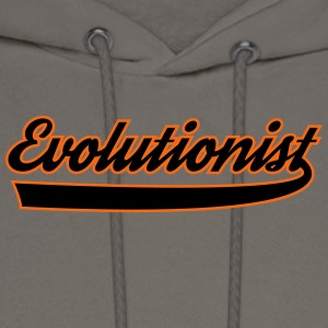 evolutionist - Men's Hoodie