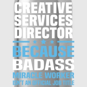 Creative Services Director Tshirt - Water Bottle