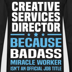 Creative Services Director Tshirt - Men's Premium Long Sleeve T-Shirt