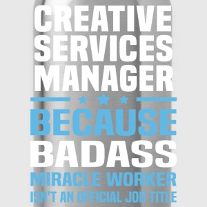 Creative Services Manager Tshirt - Water Bottle