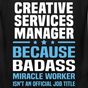 Creative Services Manager Tshirt - Men's Premium Tank