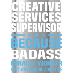 Creative Services Supervisor Tshirt - Water Bottle