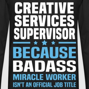 Creative Services Supervisor Tshirt - Men's Premium Long Sleeve T-Shirt