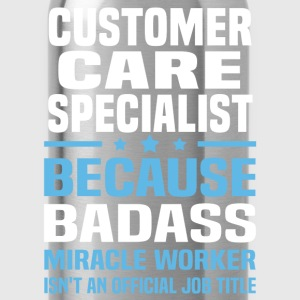 Customer Care Specialist Tshirt - Water Bottle