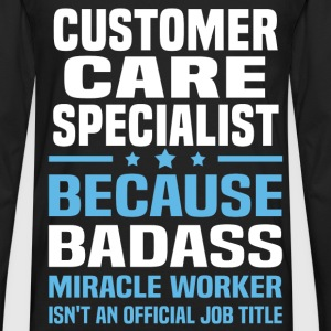 Customer Care Specialist Tshirt - Men's Premium Long Sleeve T-Shirt