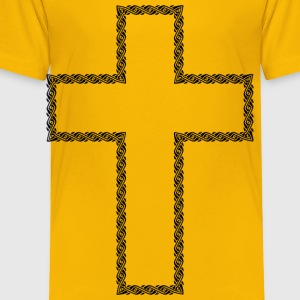 Border 12 Extended Cross 2 - Toddler Premium T-Shirt