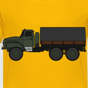 Ural4320 military truck (coloured) - Toddler Premium T-Shirt