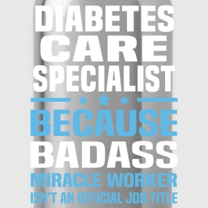 Diabetes Care Specialist Tshirt - Water Bottle