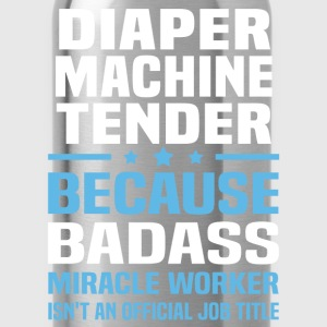 Diaper Machine Tender Tshirt - Water Bottle