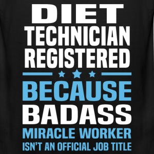 Diet Technician Registered Tshirt - Men's Premium Tank
