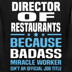 Director of Restaurants Tshirt - Men's Premium Tank