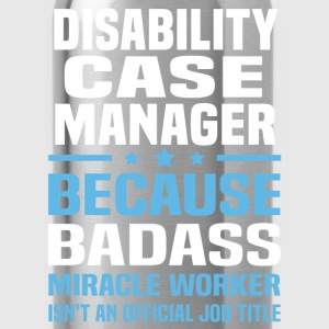 Disability Case Manager Tshirt - Water Bottle