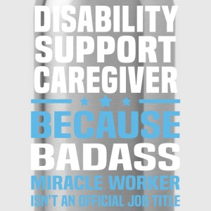 Disability Support Caregiver Tshirt - Water Bottle
