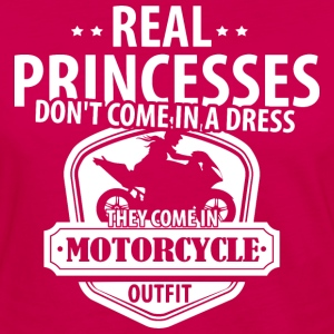 Real Princess Motorcycle T-Shirts - Women's Premium Long Sleeve T-Shirt