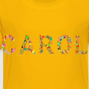 Carol Typography - Toddler Premium T-Shirt