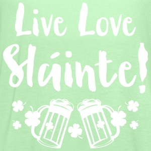 Live Love Slainte T-Shirts - Women's Flowy Tank Top by Bella