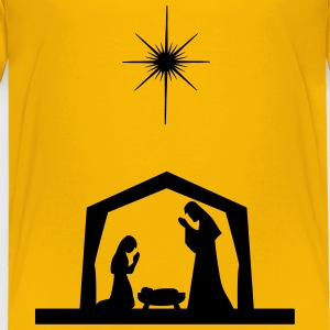 Nativity Silhouette - Toddler Premium T-Shirt