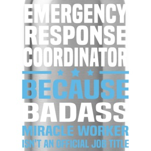 Emergency Response Coordinator Tshirt - Water Bottle