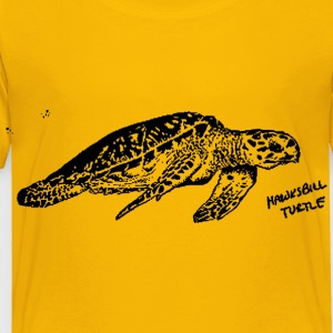 Hawksbill Turtle - Toddler Premium T-Shirt