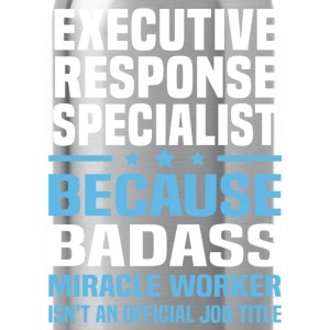 Executive Response Specialist Tshirt - Water Bottle
