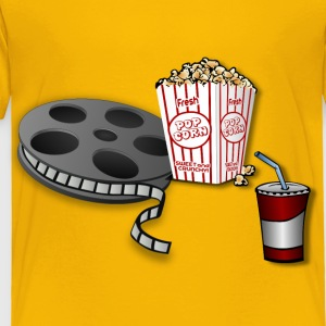 Movie Time Remix! - Toddler Premium T-Shirt