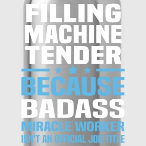 Filling Machine Tender Tshirt - Water Bottle