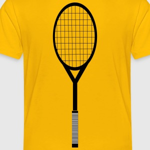 Tennis Racquet - Toddler Premium T-Shirt