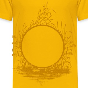 Reed frame (golden) - Toddler Premium T-Shirt