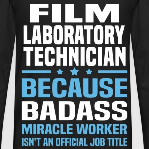 Film Laboratory Technician Tshirt - Men's Premium Long Sleeve T-Shirt