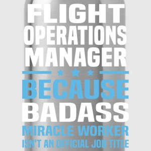 Flight Operations Manager Tshirt - Water Bottle