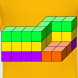cube tower 04 - Toddler Premium T-Shirt