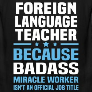 Foreign Language Teacher Tshirt - Men's Premium Tank