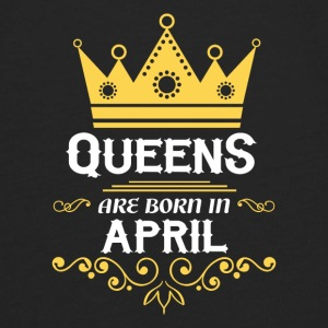 queens are born in april Baby & Toddler Shirts - Men's Premium Long Sleeve T-Shirt