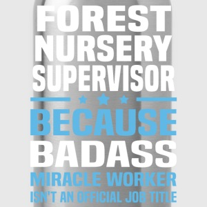 Forest Nursery Supervisor Tshirt - Water Bottle