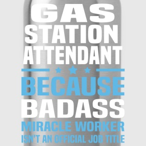 Gas Station Attendant Tshirt - Water Bottle
