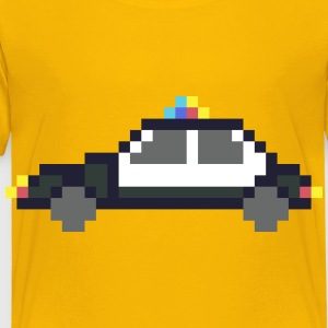 Pixel art police car - Toddler Premium T-Shirt