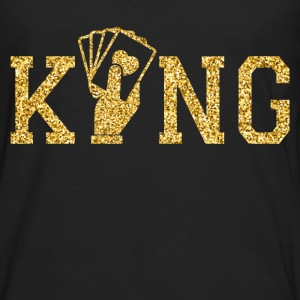 king of poker T-Shirts - Men's Premium Long Sleeve T-Shirt