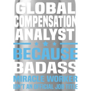 Global Compensation Analyst Tshirt - Water Bottle