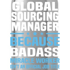 Global Sourcing Manager Tshirt - Water Bottle