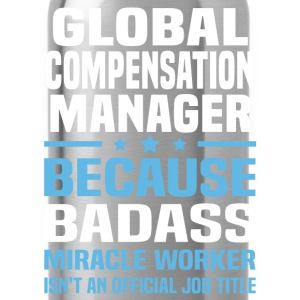 Global Compensation Manager Tshirt - Water Bottle