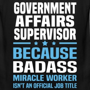 Government Affairs Supervisor Tshirt - Men's Premium Tank