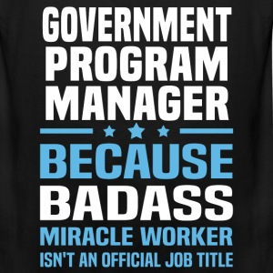 Government Program Manager Tshirt - Men's Premium Tank
