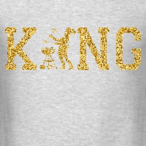 king of bbq Long Sleeve Shirts - Men's T-Shirt
