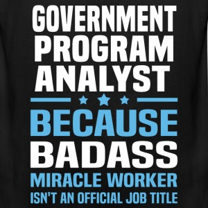Government Program Analyst Tshirt - Men's Premium Tank