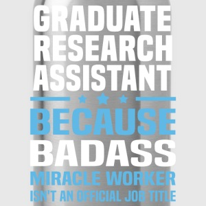 Graduate Research Assistant Tshirt - Water Bottle