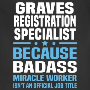 Graves Registration Specialist Tshirt - Adjustable Apron
